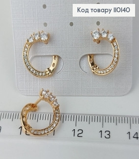 Сережки медичне золото Xuping 110140 фото