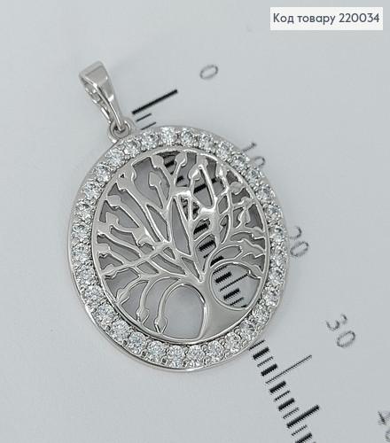 Кулон Дерево   в камінцях  медичне золото Xuping 220034 фото
