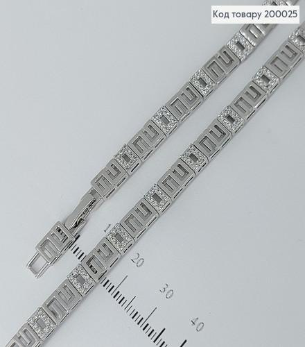 Браслет медсплав 17+1,5см 200025 фото