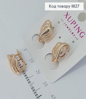 Сережки Саунд  медичне золото Xuping 111127 фото