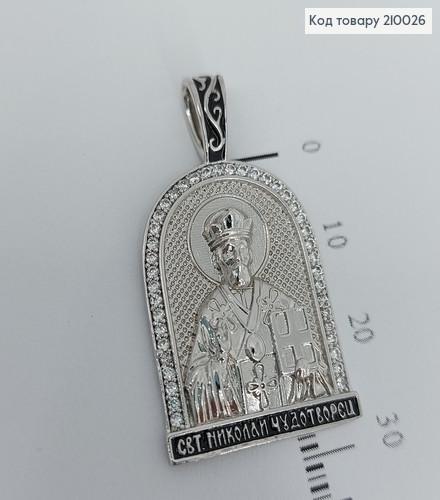 Іконка Св.Миколай  3*2см 210026 фото