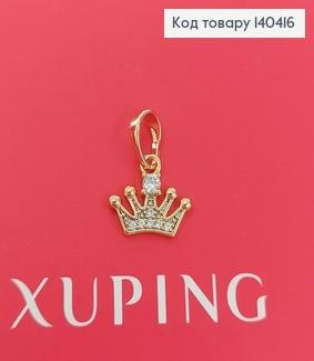 Кулон Корона в камнях медицинское золото Xuping 140416 фото