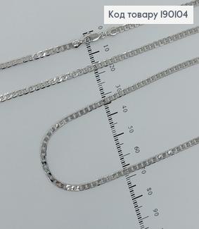 Ланцюжок родірований 3 мм, довжина 70см медичне золото  Xuping 190104 фото