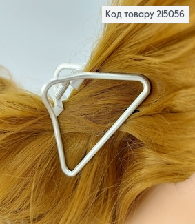 Краб метал срібний трикутник 215056 фото