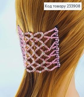 Заколка Монтера для волосся рожева 233908 фото