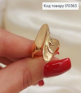 Кольцо Стрела объемная большая медицинское золото Xuping 170363 фото