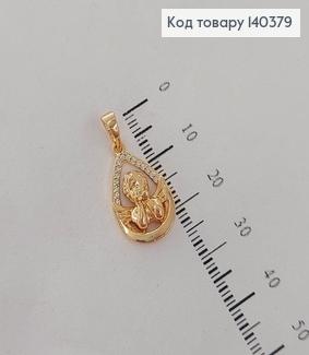 Кулон Ангелочок з камінцями медичне золото Xuping 140379 фото