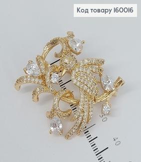 Брошка Жар Птиця Ювелірна біжутерія Xuping  160016 фото